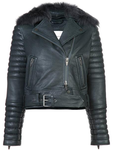 the Arrivals jacket women spandex black