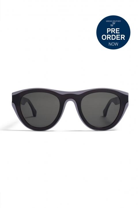 MYKITA/MAISON MARTIN MARGIELA MMDUAL004 Black/Grey - Darkgrey Solid Sunglasses PRE-ORDER