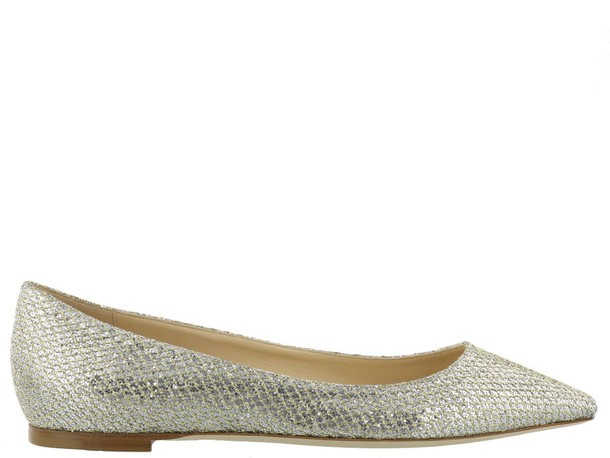 Jimmy Choo champagne shoes