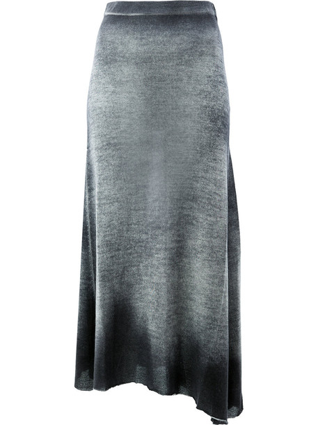 AVANT TOI skirt women black silk
