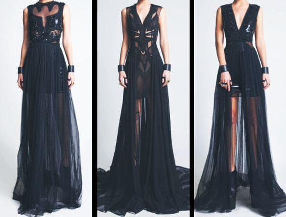 dress prom dress lace dress black dresses sexy dress see through dress prom black lace dress promdress2014 black prom dress maxi dress see through prom 2014 fashion