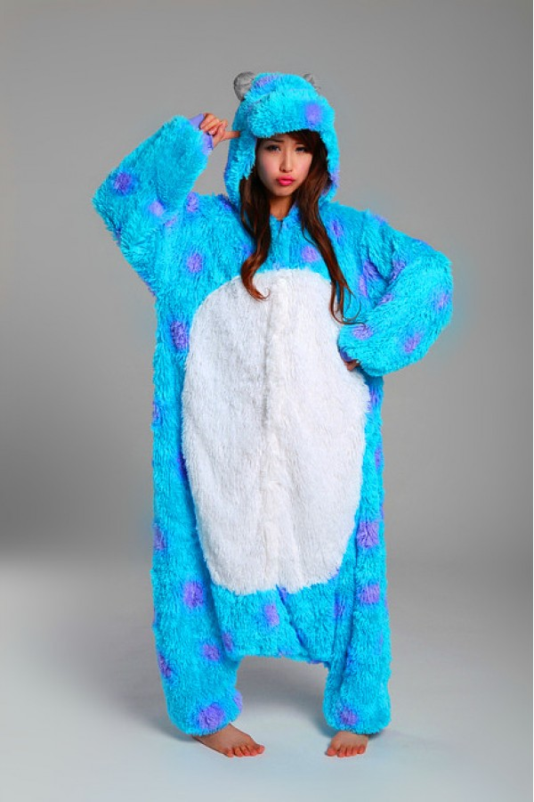 Monsters Inc Sulley Kigurumi Onesie