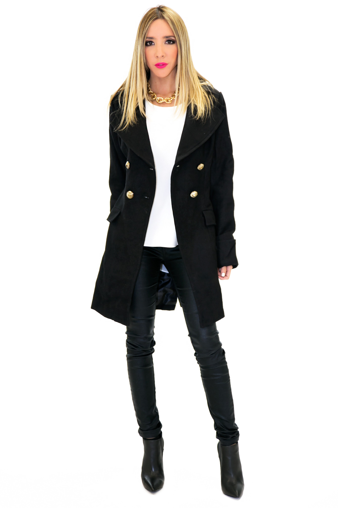 BRENON WOOL COAT | Haute & Rebellious
