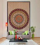 home accessory,stylish tapestry,home decor,holiday home decor,indian tapestry,indian,indian tapestry bedspread,mandala indian tapestry,mandala,mandala wall hanging,hippie,hippie chic,tapestry,elephant print,red,brown,aztec,black,animal tapestry,boho,bohemian,boho decor,designer tapestry,pretty,tribal pattern,jewels,indie,bedding,boho bedding,round mandala,bedding boho colourful,bedroom,home stickers,hoodie,homies,boho chic,Handicrunch,tumblr,print,printed tapestry,mandala round tapestry,dorm room,dorm tapestry,scarf,carpet,gypsy,blanket,throw blanket,throw,hippy vibe,hipster vibe,urban,vintage,psychedelic tapestries,psychedelic,hindu tapestry,stylish,wall hanging designer tapestry