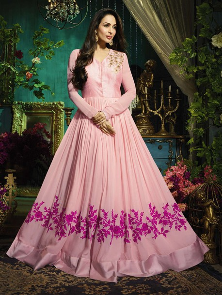dress, gown suits, bollywood gown, ethnic gown, partywear gown ...