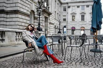 lolita mas blogger coat t-shirt jeans shoes bag sunglasses jewels