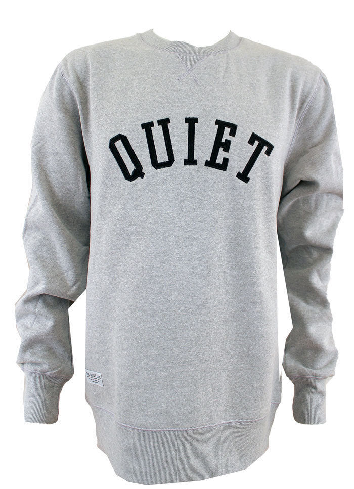 The Quiet Life Applique Crewneck Jumoer - Grey Multi