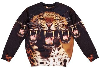 animal print full print clothes streetwear animal print printed sweater all over print full print clothing fashion streetstyle sweater sweatshirt tumblr outfit tumblr clothes