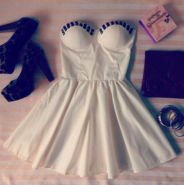 dress sheer fabric dress high heels white dress bag
