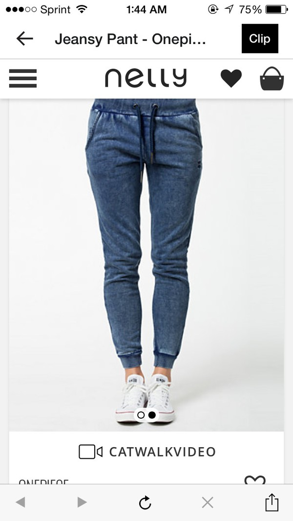 jeans joggers