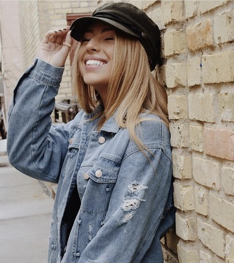 hat black cabby hat newsboy hat trendy black hat accessories accessory