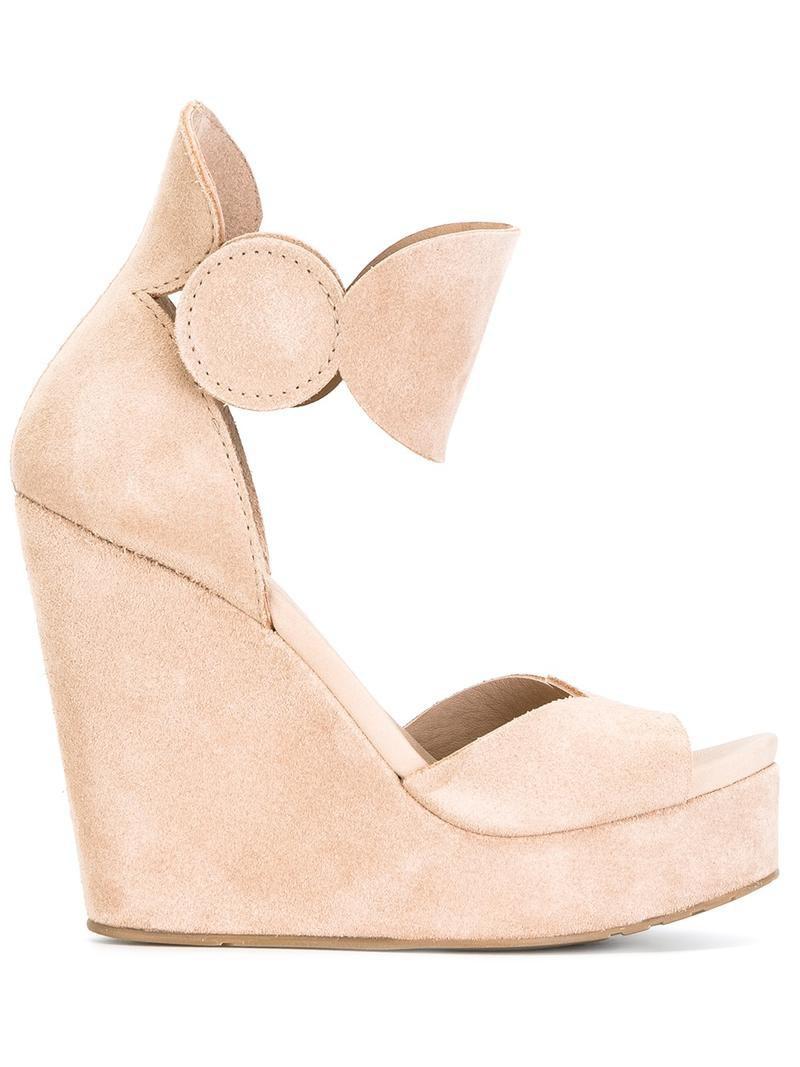 Pedro Garcia 'Talia' sandals, Women's, Size: 39, NudeNeutrals, SuedeLeatherrubber