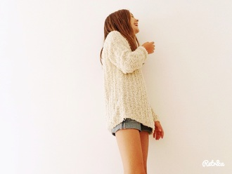 jeans knitted sweater