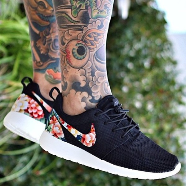 roshe run men floral