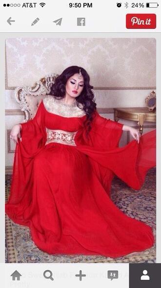 dress pretty kaftan prom celebration