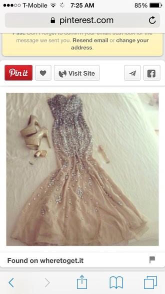 dress gold sequins silver sequins  dress prom dress evening dress