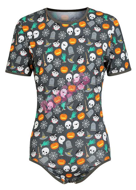 romper onesie halloween onesie spooky onesie onesies downunder abdl abdl onesie halloween fashion halloween romper wheretoget