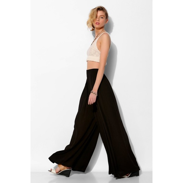 Ecote Pleated Wide-Leg Pant
