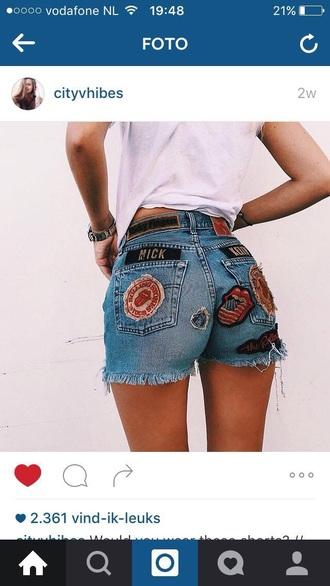 shorts short summer summer shorts summer outfits short shorts denim shorts embroidered