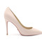 4 inch light pink high heels