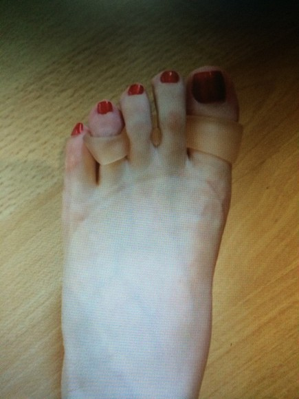 style make-up loss weight foot wear toe ring slim fit foot jewelry health and beauty
