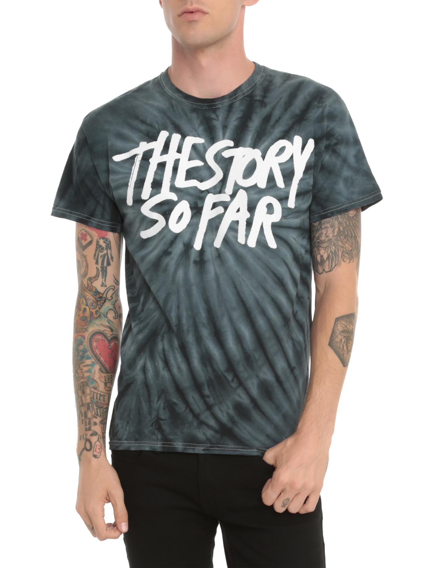 The Story So Far Tie Dye T-Shirt | Hot Topic