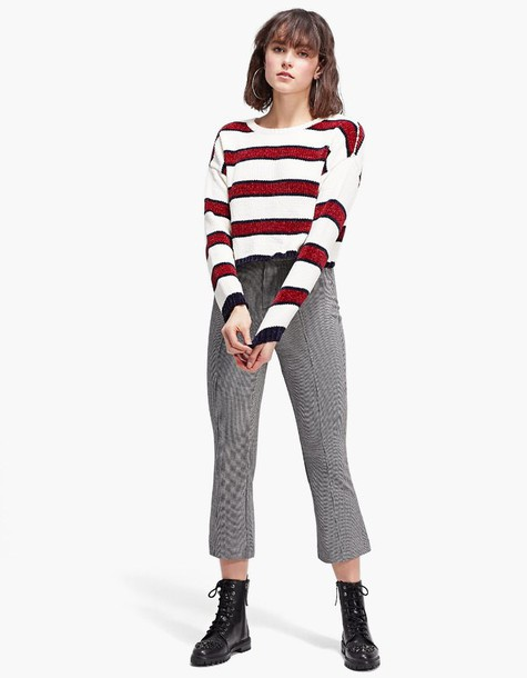 Stradivarius sweater cropped