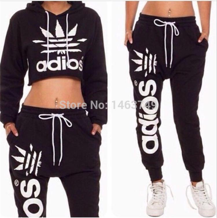 56720ce071010 chándales de deportes de las mujeres harajuku ropa deportiva de marca de  las señoras 2015 primavera nueva moda ...