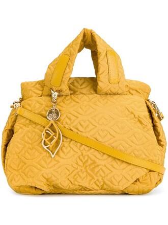 yellow orange bag