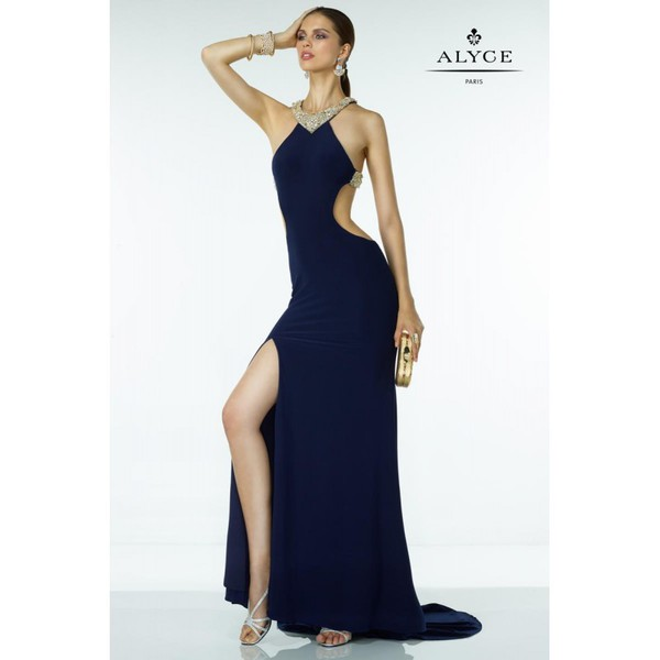 dress alyce paris black dress