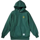 sweater,green,green hoodie,green adidas hoodie,adidas,adidas hoodie,adidas logo,adidas sweater,hoodie,green jacket