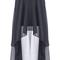Romwe | anomalous hemline black skirt, the latest street fashion