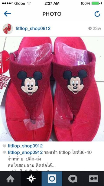 5909adc1231 fitflops mickey mouse - Wheretoget