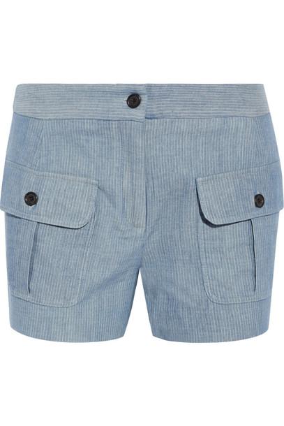 Paul & Joe shorts cotton light blue light blue