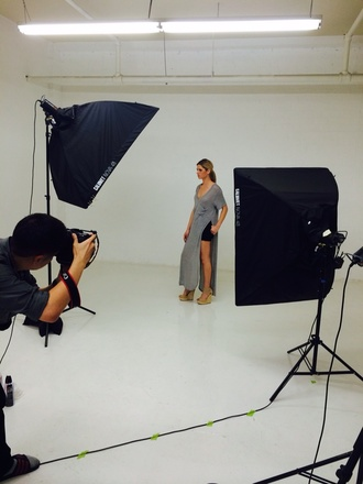 dress slit dress side slit tshirt dress angl photoshoot boyfriend photographer on set get this look