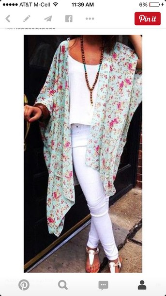 sweater flowers oversized sweater trendy style jewels kimono cardigan cute sweaters summer spring