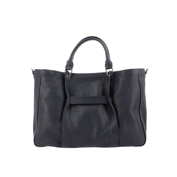 Longchamp women bag handbag shoulder bag blue