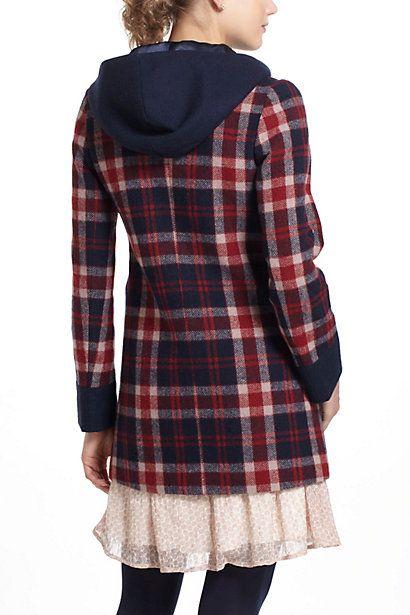 Riveted plaid jacket-Back | Inspiration | Pinterest