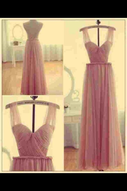 dress stylish girly long