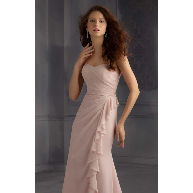 Sweetheart Long Dress by Bridesmaids by Mori Lee 703 - Bonny Evening Dresses Online