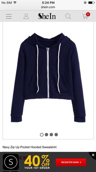 sweater blue girly girl girly wishlist crop tops crop cropped cropped sweater hoodie cropped hoodie