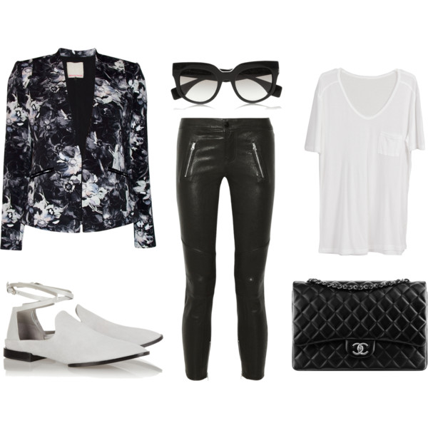 Floral Friday - Polyvore