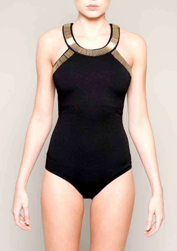 top clothes clothes haute couture fashion blog black bodysuit gold