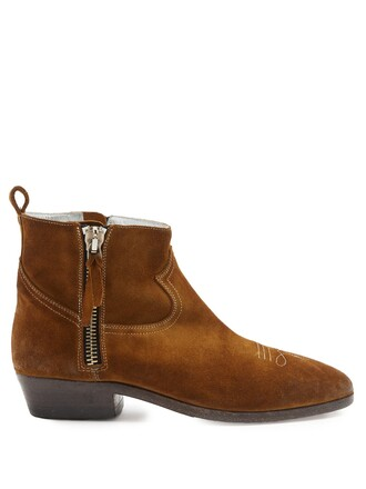 suede ankle boots ankle boots suede tan shoes