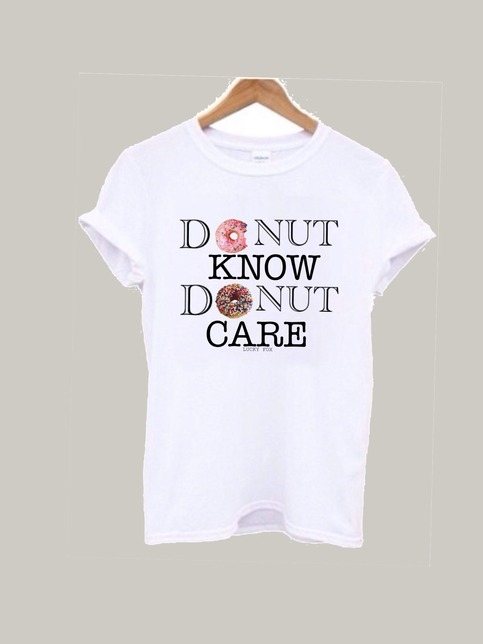 Donut care, donut know    Lucky Fox   Online Store Powered by Storenvy