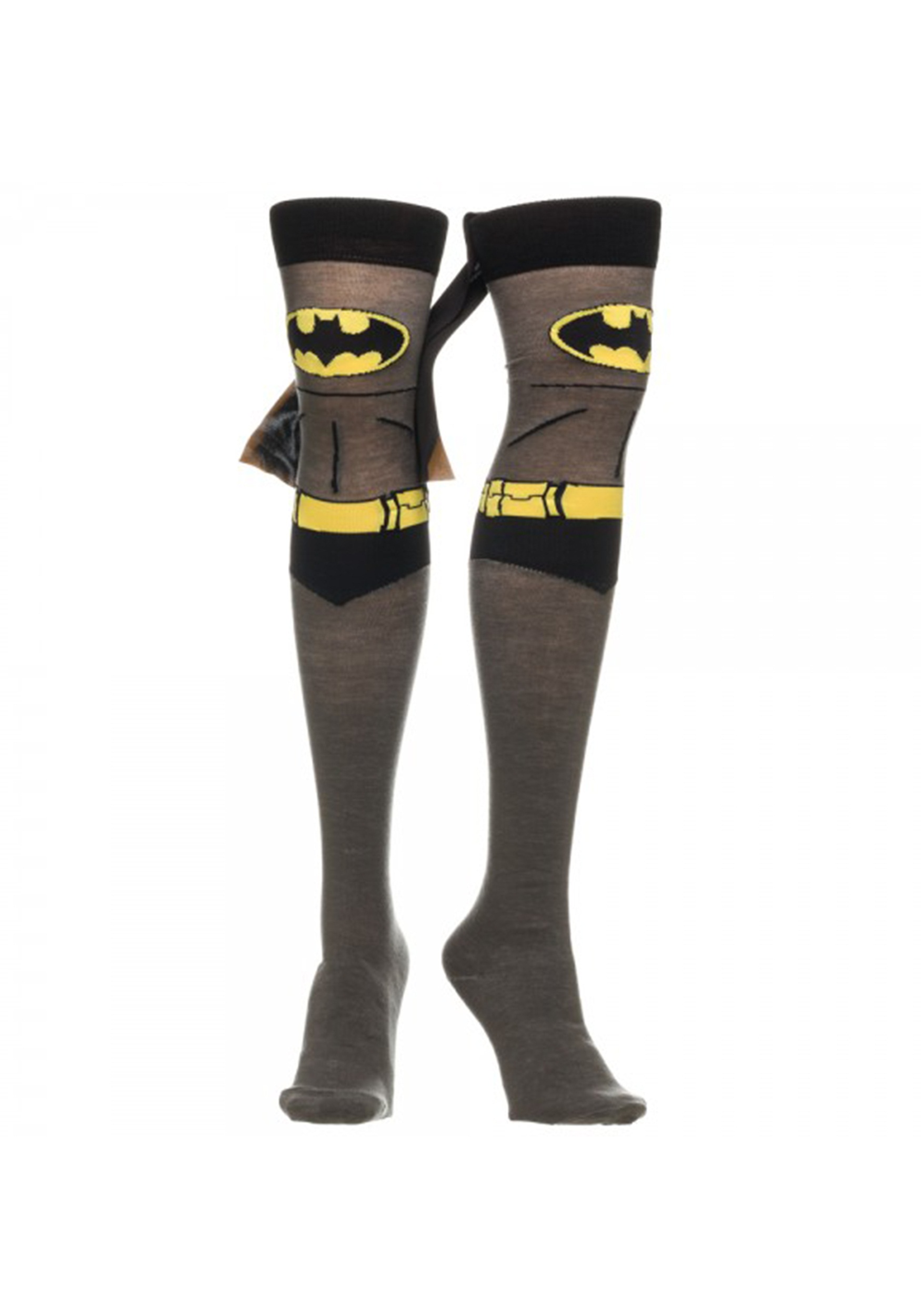 Batman Over the Knee Cape Socks