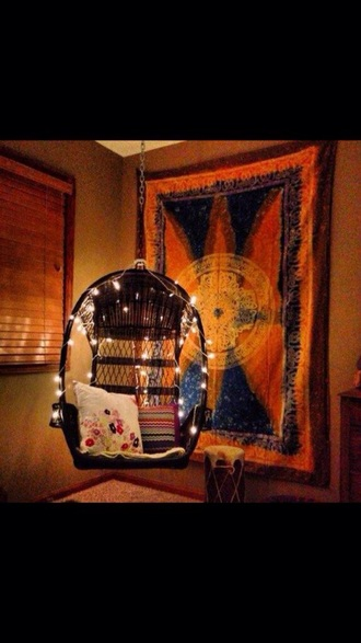home accessory tapestry blanket wall hang indian boho tapestry chair lights bedroom furniture home furniture hanging chair black