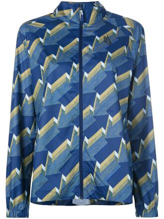 jacket arrow women print blue