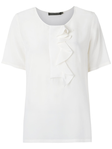 Andrea Marques blouse women silk top