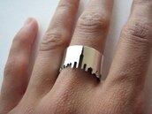 jewels,argent,ring,silver ring,skyscraper,minimalist jewelry